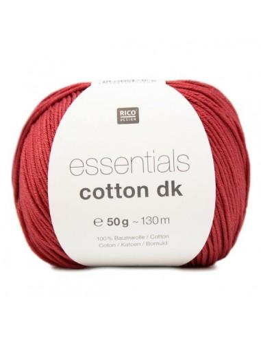Pelote Essentials cotton dk rouge foncé