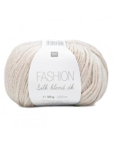 Pelote Fashion silk blend dk écru