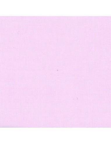 Tissu en coton léger Unis coloris Rose perle