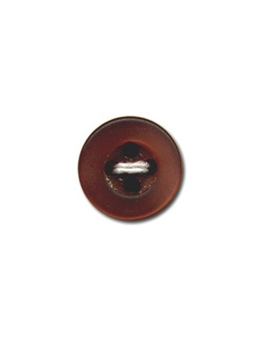 Bouton Rond 9mm Caramel
