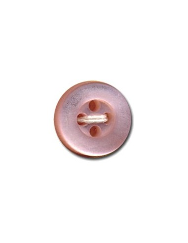 Bouton Rond 9mm Rose