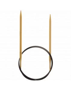 Aiguilles à tricoter circulaires Bambou 80cm n°5