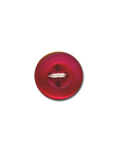 Bouton Rond 9mm Rouge