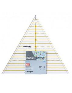 Règle patchwork triangle multi 8 inch omnigrid