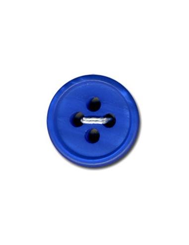 Bouton Rond 15mm Bleu