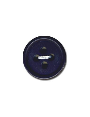 Bouton Rond 15mm Bleu marine