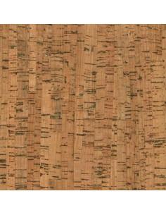 Tissu en liège naturel et doré