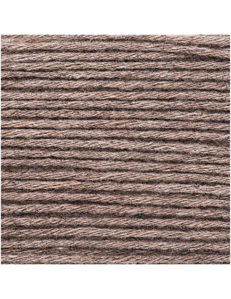 Pelote Essentiels alpaca blend chunky gris-brun