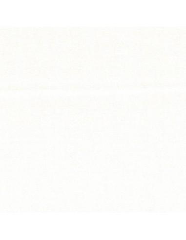 Tissu en coton léger Unis coloris Blanc