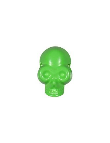Tête de mort à coudre Vert fluo