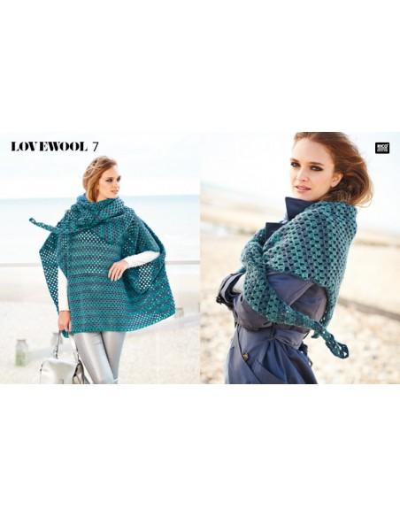 Pelote Creative wool dégradé super 6 arc-en-ciel