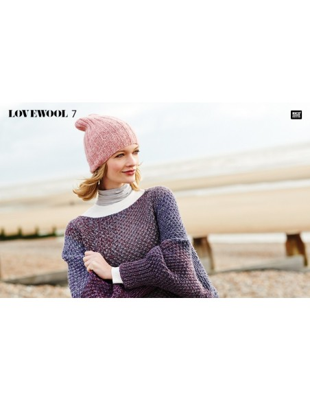 Pelote Creative wool dégradé super 6 arc-en-ciel