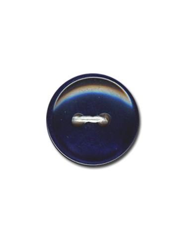 Bouton Classique 15mm Bleu marine