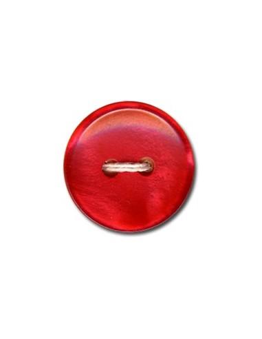Bouton Classique 18mm Rouge