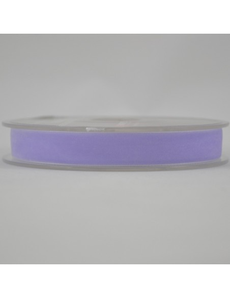 Ruban de velours 16mm Lilas