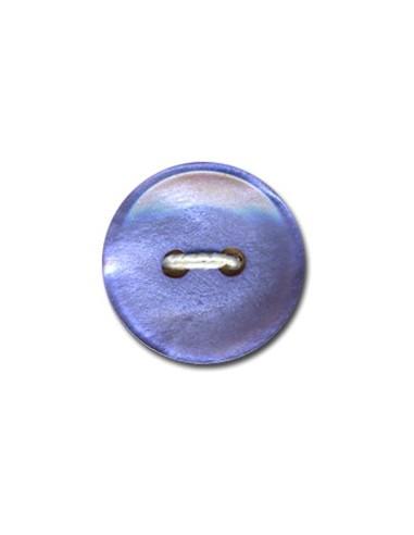 Bouton Classique 18mm Bleu