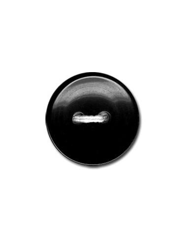 Bouton Classique 18mm Noir