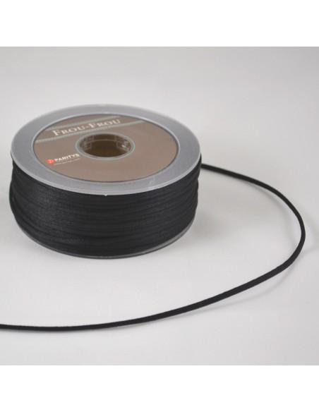 Queue de rat 3mm Noir