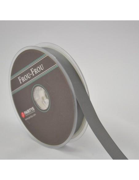 Ruban Gros grain unis 6mm Taupe