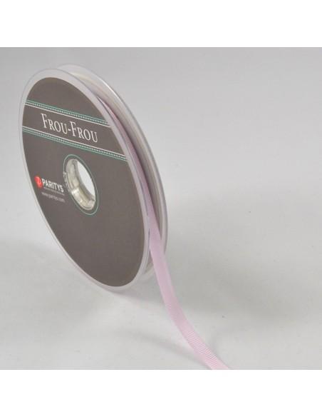 Ruban Gros grain unis 6mm Rose dragée