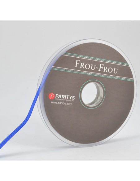 Ruban Gros grain unis 6mm Bleu électrique