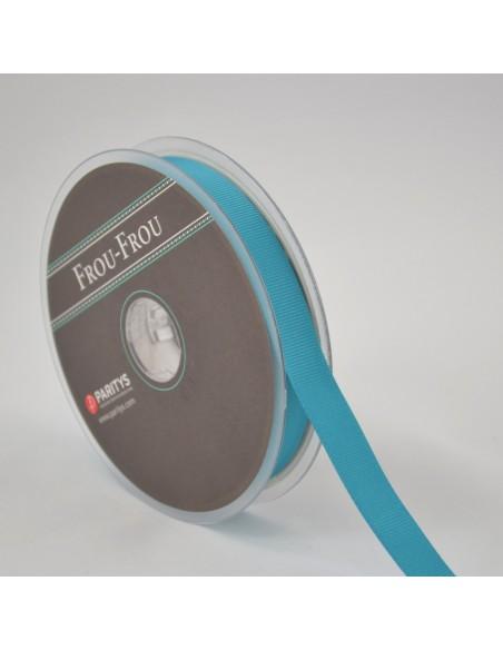 Ruban Gros grain unis 6mm Bleu canard