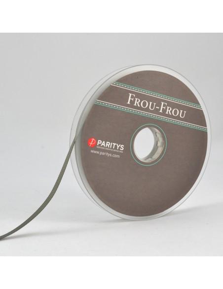 Ruban Gros grain unis 6mm Vert olive