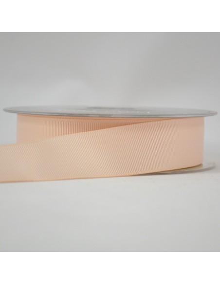 Ruban Gros grain unis 25mm Skin