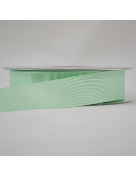 Ruban Gros grain unis 25mm Vert d'eau