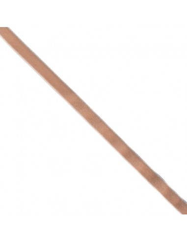 Ruban de velours 9mm Sable