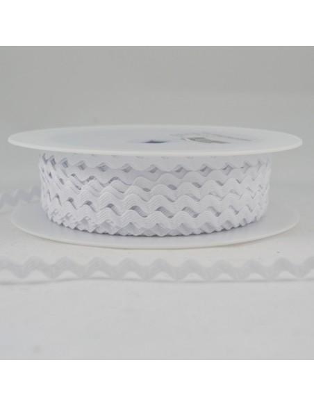Serpentine ''Toutextile'' 8mm coloris Blanc