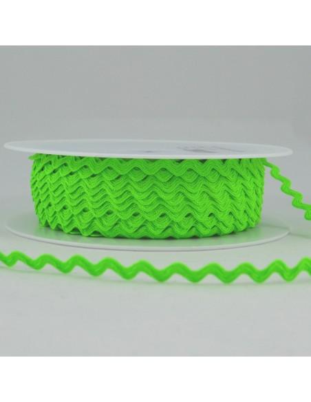 Serpentine ''Toutextile'' 8mm coloris Vert fluo