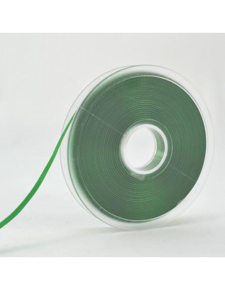 Ruban de Satin double face 6mm Vert billard