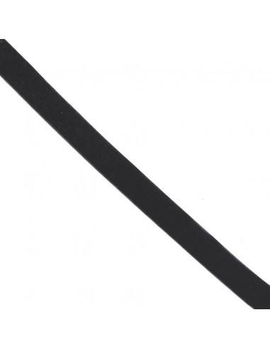 Ruban de velours 16mm Noir