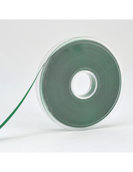 Ruban de Satin double face 6mm Vert sapin