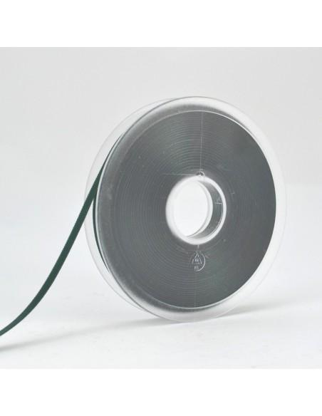 Ruban de Satin double face 6mm Vert anglais