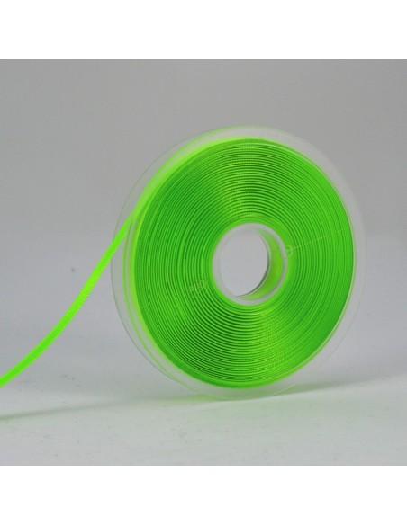 Ruban de Satin double face 6mm Vert fluo