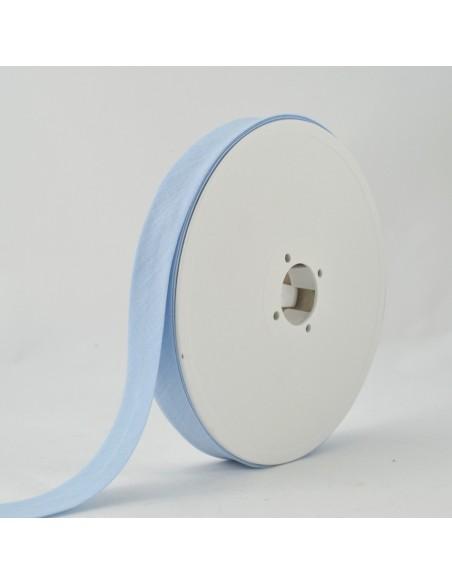 Biais Toutextile 20mm Bleu ciel