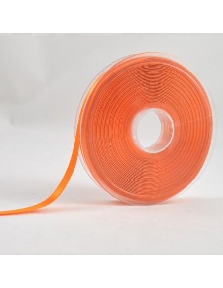 Ruban de Satin double face 8mm Abricot
