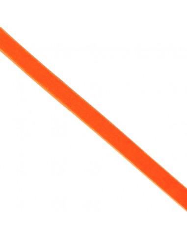 Ruban de velours 16mm Mandarine