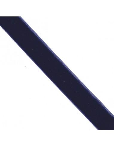 Ruban de velours 25mm Bleu marine