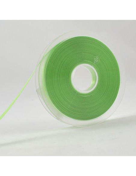 Ruban de Satin double face 8mm Vert printemps