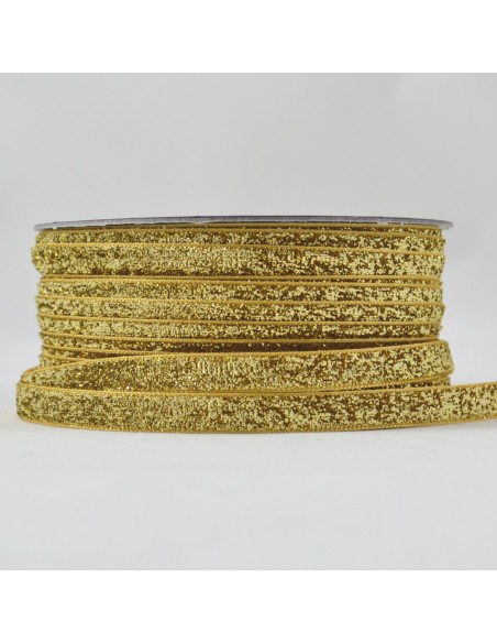 Galon Lurex 10mm Doré