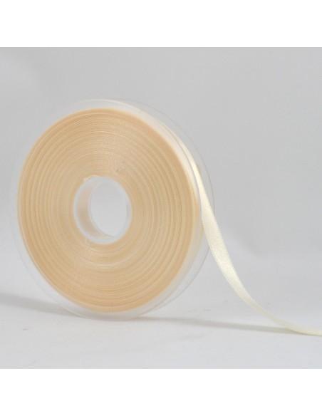 Ruban de Satin double face 10mm ivoire
