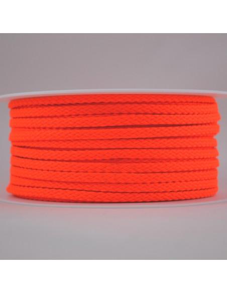 Cordon Toutextile 5mm Orange fluo