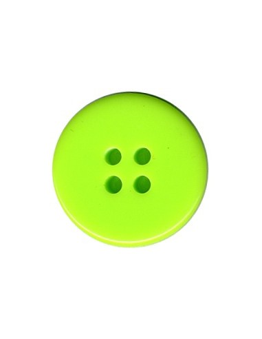 Bouton Classique 19mm Vert fluo