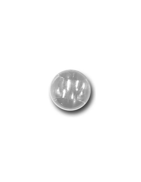 Bouton Bille 10mm Transparente