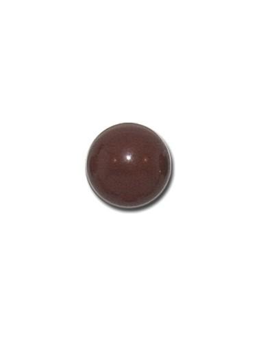 Bouton Boule 13mm Caramel