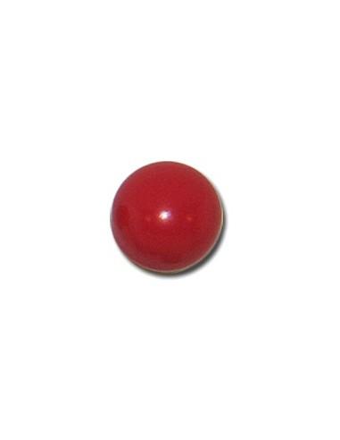 Bouton Boule 13mm Rouge