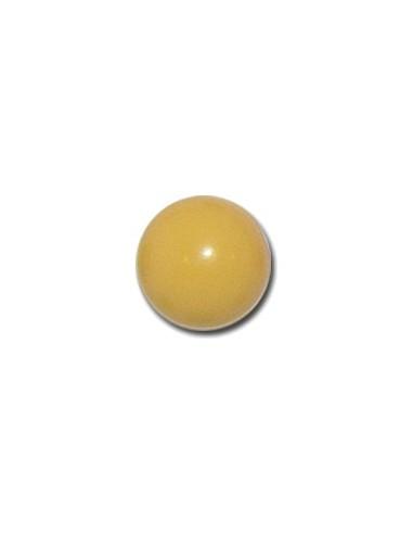 Bouton Boule 13mm Jaune